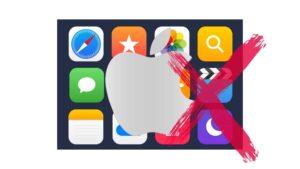 Apple-Apps delete account