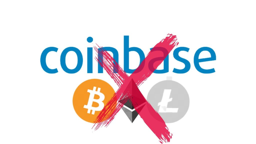 Coinbase delete Account