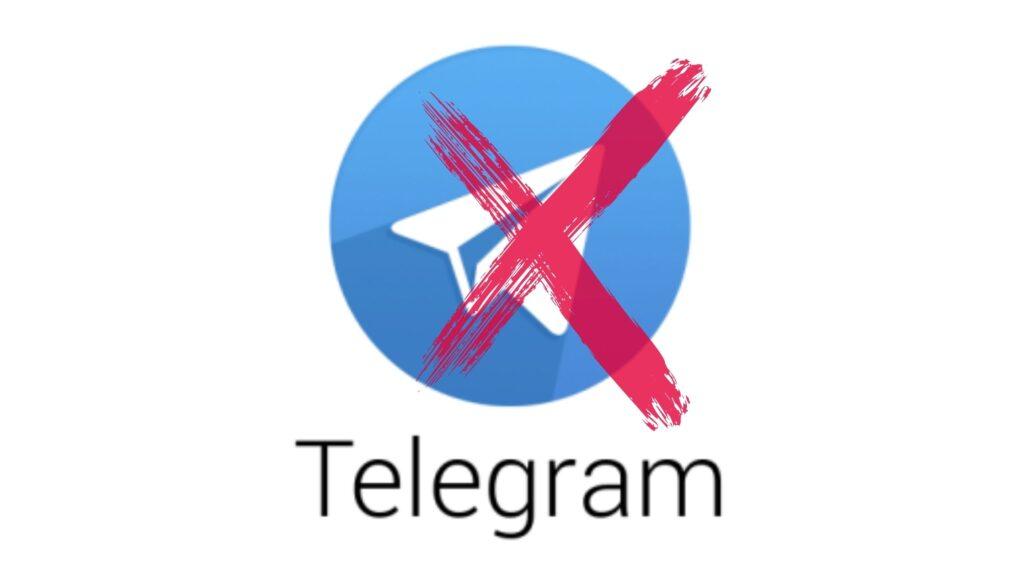 Telegram Logo X